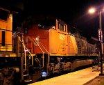 CN 8924 second on train K038